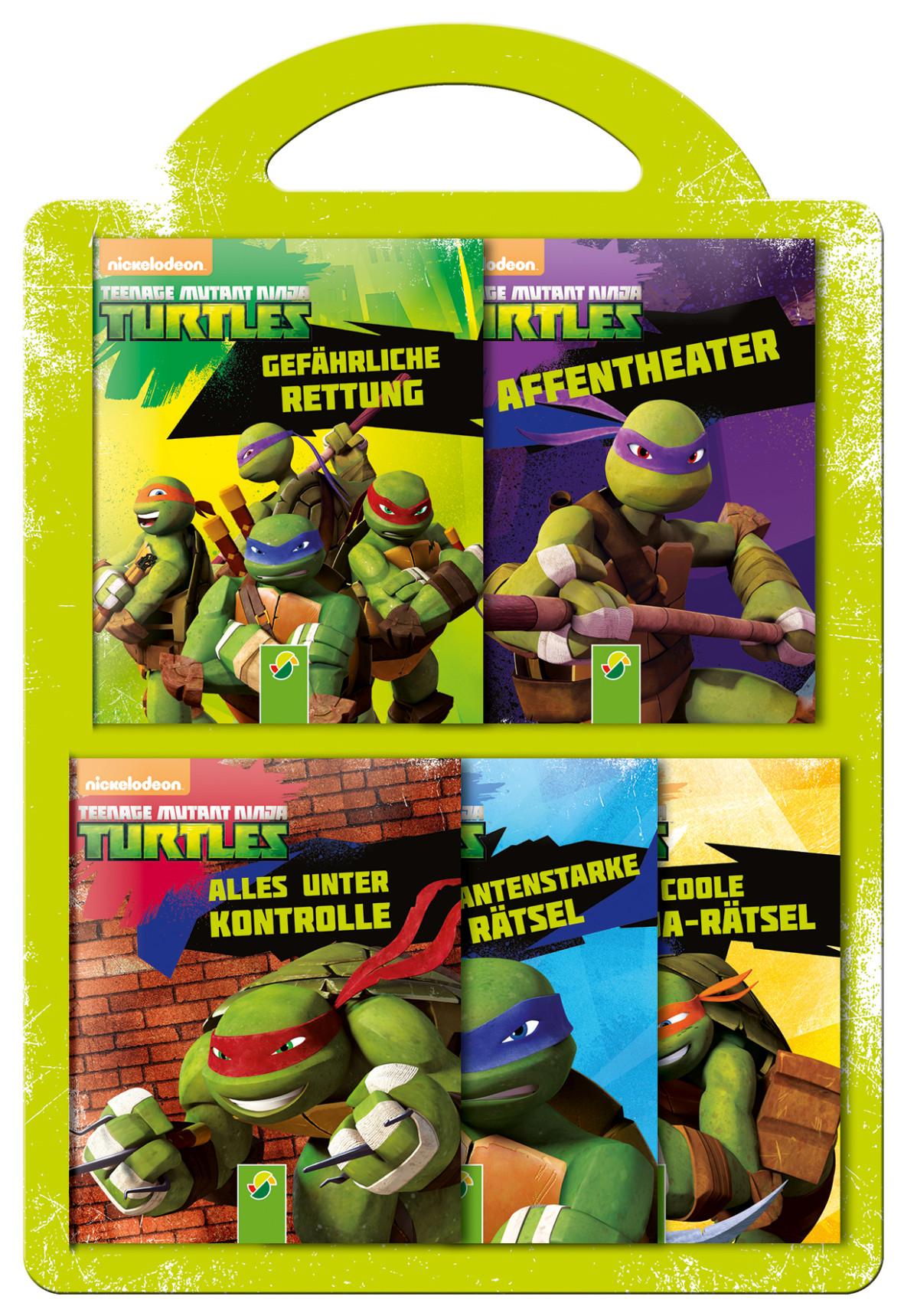 Fantastisch Teenage Mutant Ninja Turtles Malbuch Zeitgenössisch ...