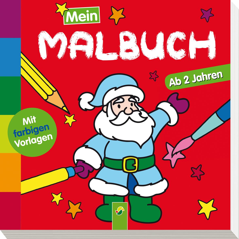 Mein Malbuch Weihnachten Schwager Steinlein Verlag Gmbh